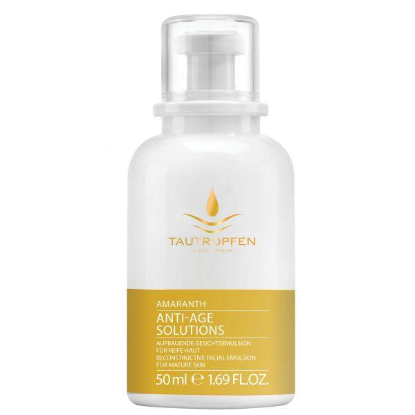 Tautropfen Amarant emulsion flaske