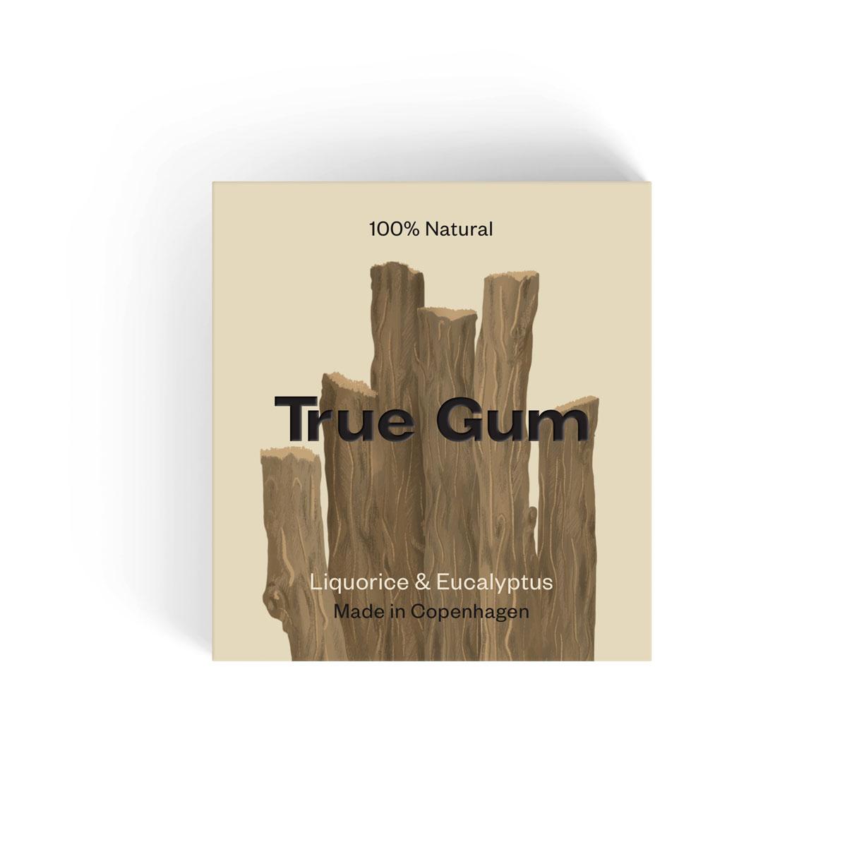 True Gum Liquorice og Eucalyptus