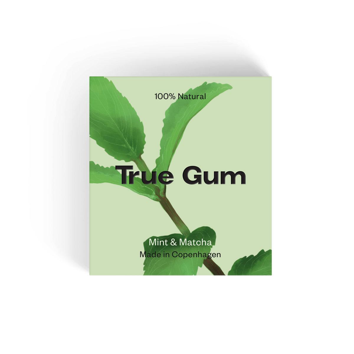 True Gum Mint og Macha
